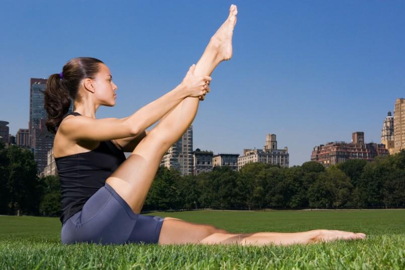 Утренняя зарядка-это отличный способ держать ваше тело в тонусе.