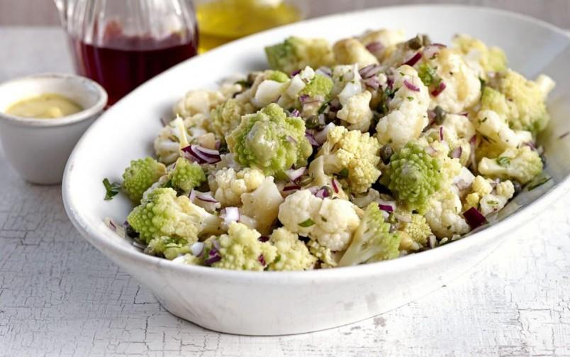 салаты из цветной капусты рецепты быстро и вкусно