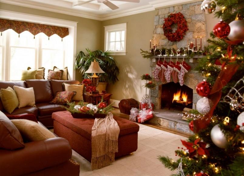 Для украшения всех комнат необходимо определится с цветом декораций.