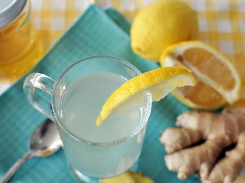 Имбирно-лимонный чай является отличным средством для похудения.