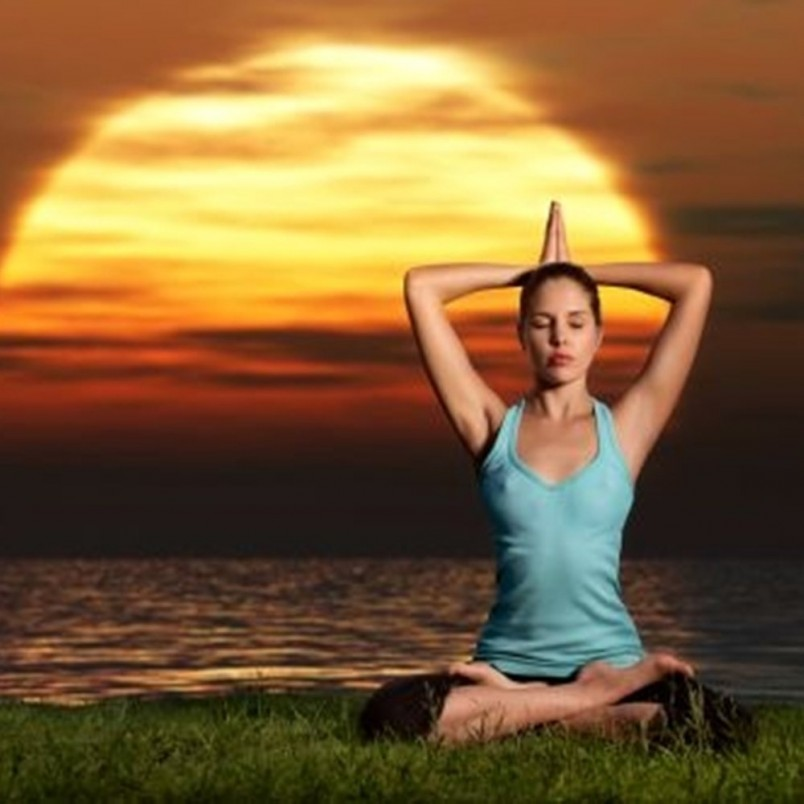 Медитируйте на открытом воздухе или же возле статуэтки индийского бога Ганеши.