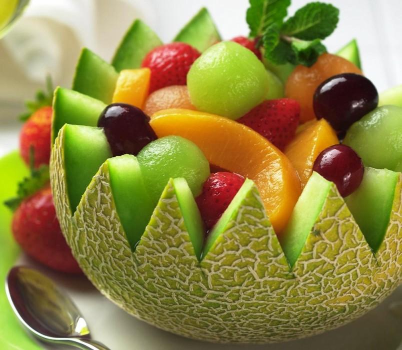 рецепты салатов фруктовых простые и вкусные с фото