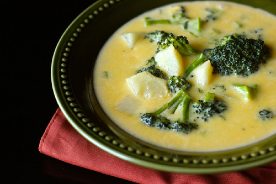 сырный суп рецепт с сыром плавыч