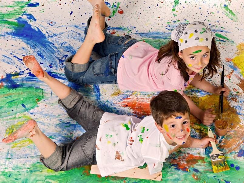 Развивайте и занимайтесь со своими детьми, тогда они вырастут талантливыми и здоровыми.