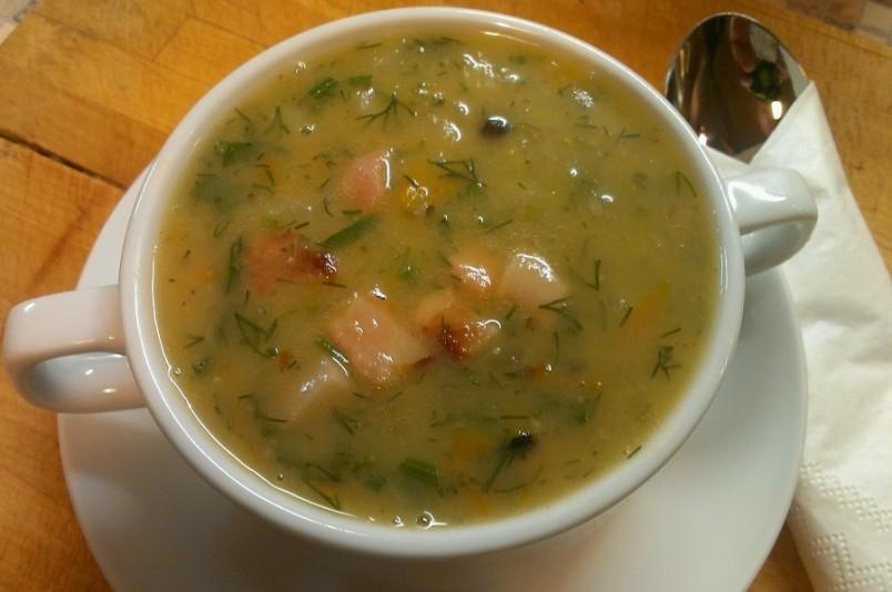 классический рецепт горохового супа