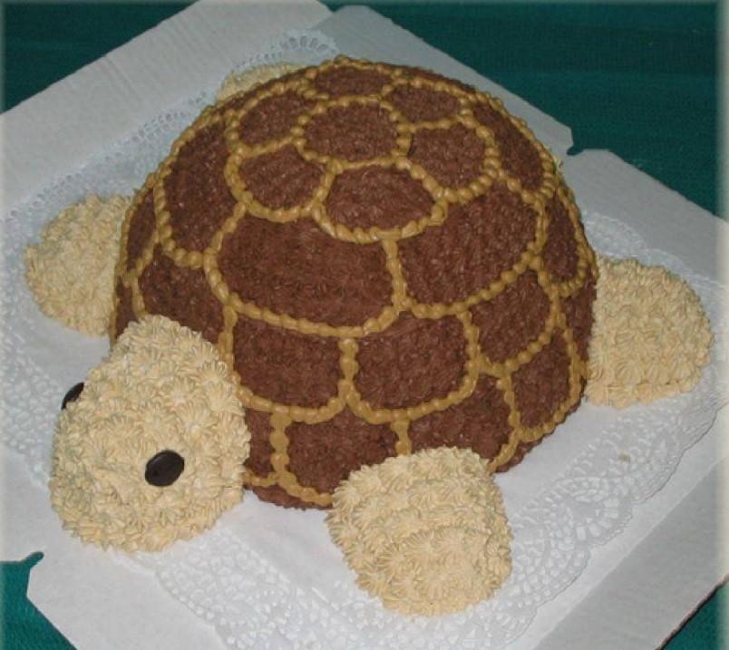 рецепт торт черепашка со сметаной с фото