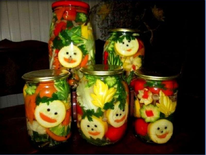 заготовки из кабачков салаты золотые рецепты