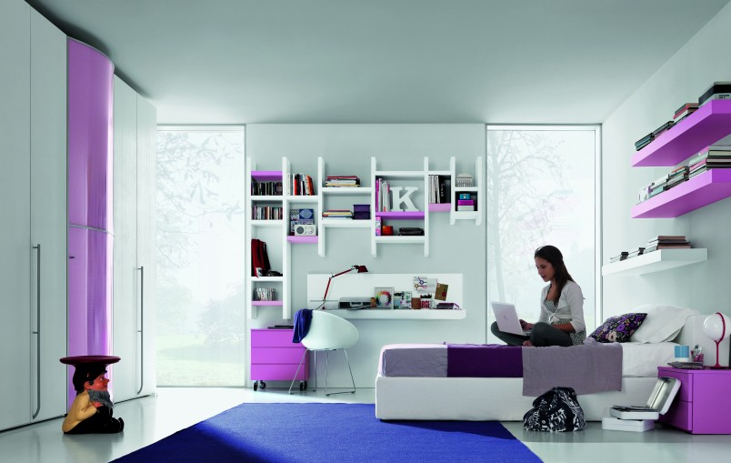 Стиль минимализм одно из самых популярных направлений оформления комнаты для девочки подросткового возраста.
