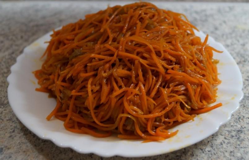 Морковь по-корейски - идеальная закуска на все случаи жизни.