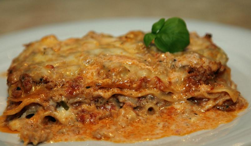 рецепт лазанья классическая с мясом фото рецепт пошаговый
