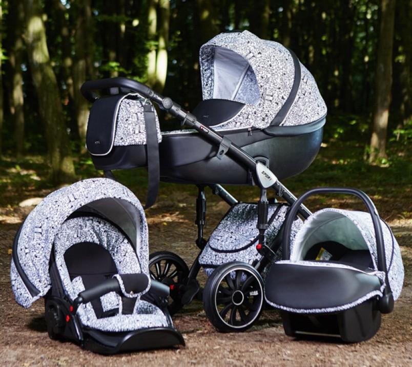 К выбору коляски рекомендуется отнестись со всей серьезностью. Наряду с коляской вам понадобиться люлька, которая будет служить для переноски ребенка, и кресло для автомобиля.