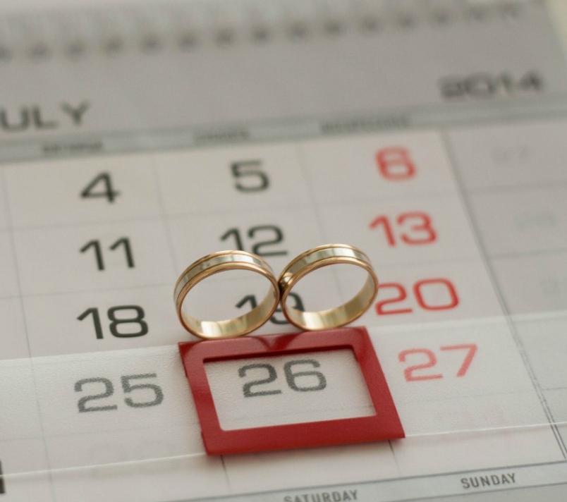 Молодая пара, желающая прожить долгую и счастливую жизнь вместе, старательно подбирают даже дату для свадьбы.