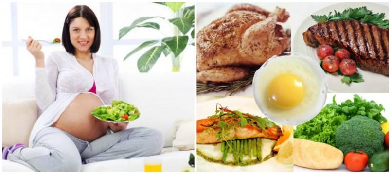 Для беременной женщины крайне важно питаться здоровой пищей, потому как ребенок получает питательные вещества из утробы матери.