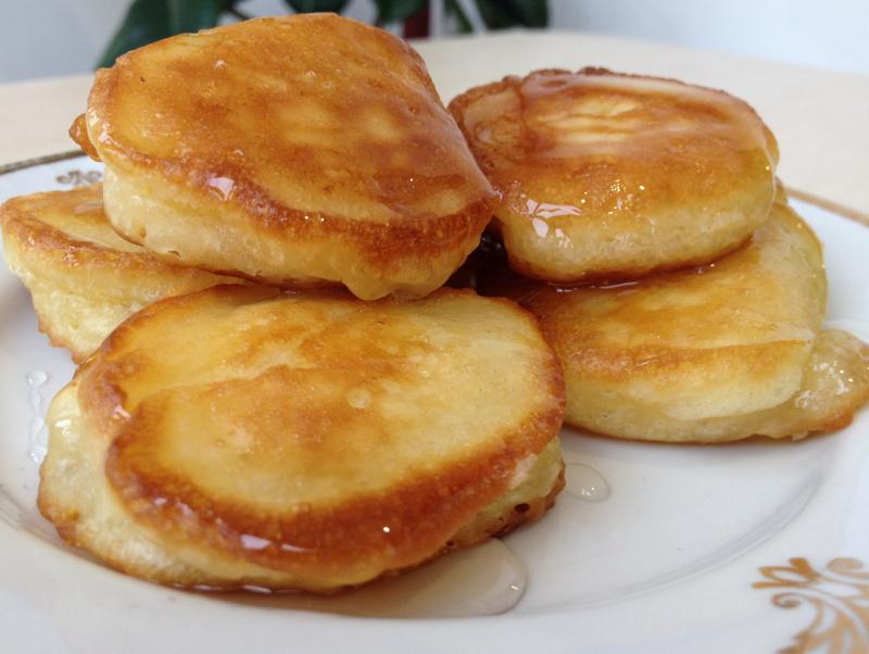 рецепт сладкие пышные оладьи с фото