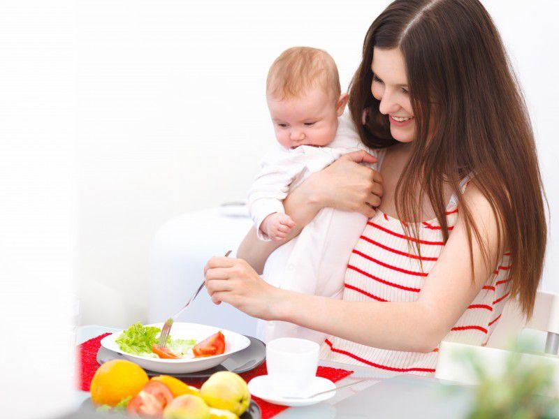 Полноценное и разнообразное питание мамы залог качества грудного молока.