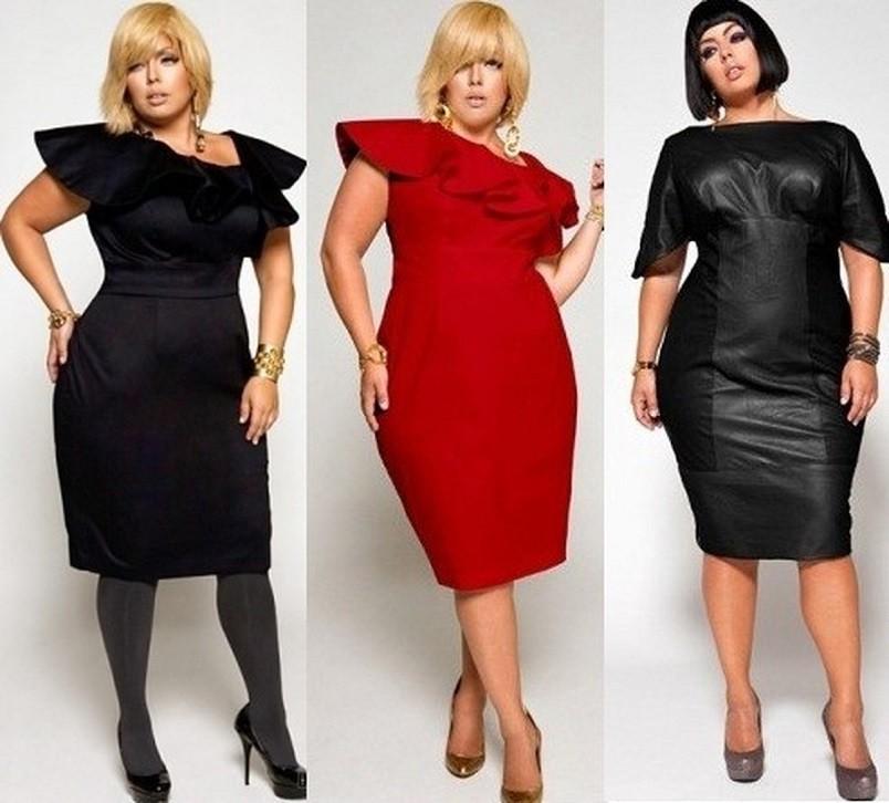 Платье - это базовая деталь, которая должна быть в гардеробе любой модницы, независимо от того, сколько сантиметров у нее талия.