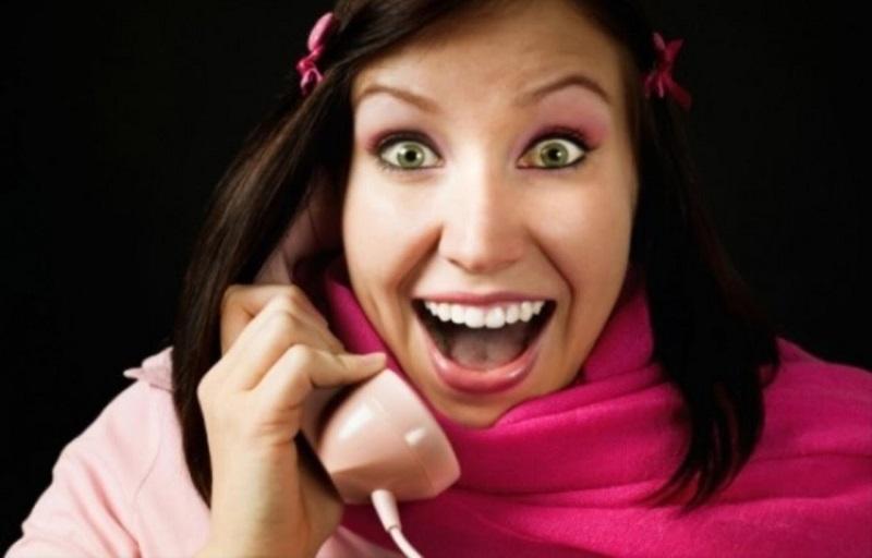 Способов поднять себе настроение много. как вариант, звонок любимому.
