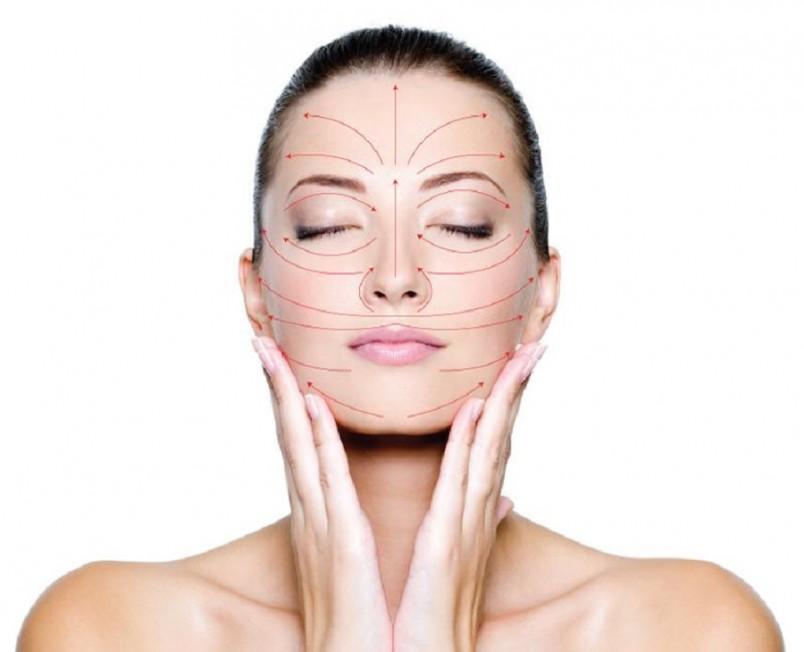 Массажные линии представляют собой направляющие, где кожа подвергается наименьшему растяжению.