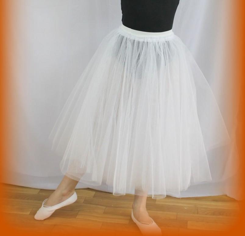 Юбка шопенка из фатина пришла к нам из балетного мира и является частью сценического костюма балерины.