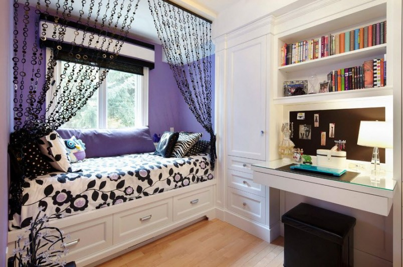 Для оформления подростковой комнаты существует огромное количество идей.