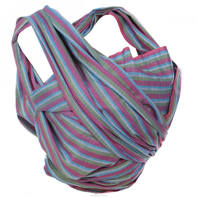 Выбирайте слинг любимого цвета или паттерна, ориентируясь на свой гардероб или просто предпочтения.