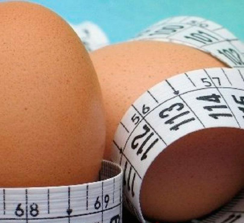Как похудеть с помощью яиц за 1 день на 2 кг