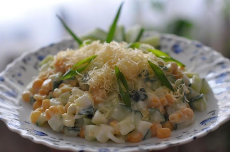 какой легкий и быстрый салатик можно приготовить