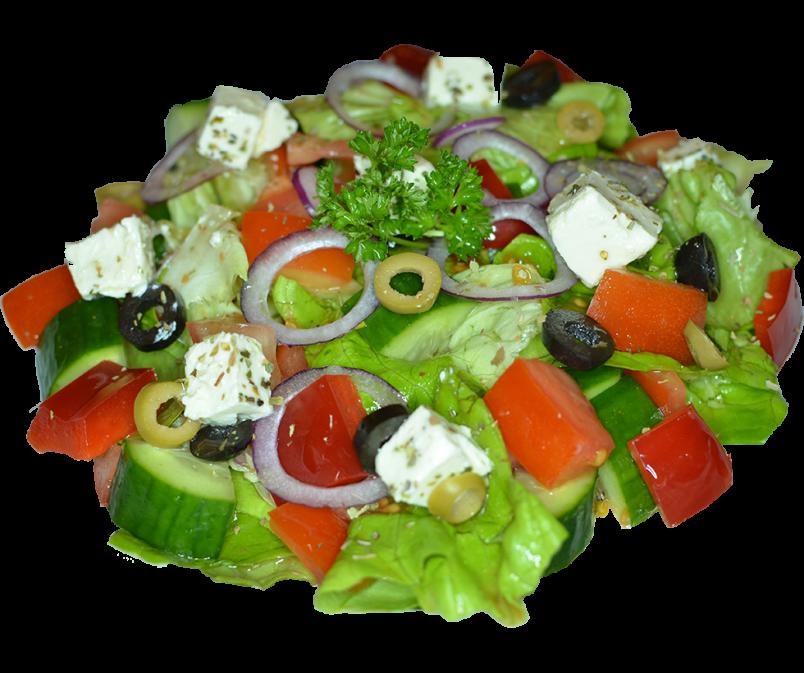 Заправку для греческого салата можно делать специально, а можно обойтись обычным растительным маслом.