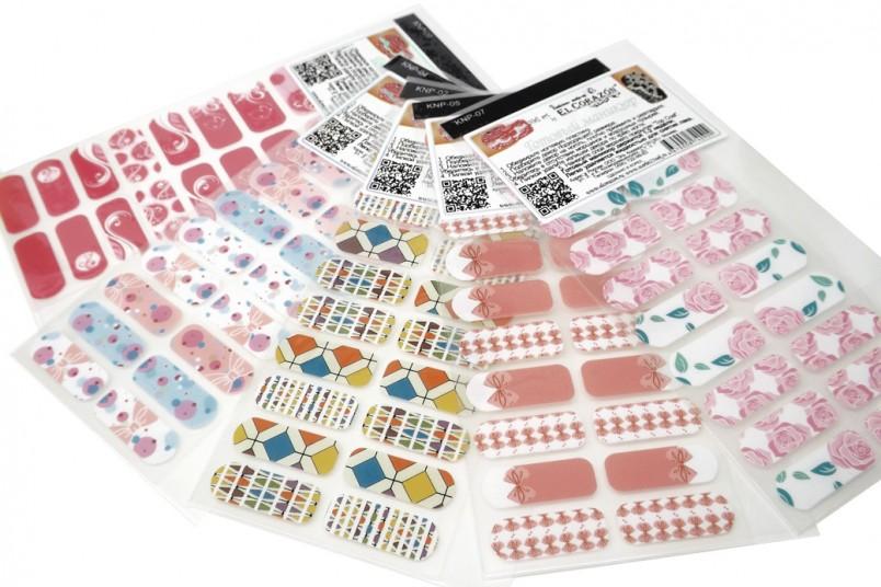Популярность наклеек на ногти достаточно быстро растет и рынок реагирует, повышая предложение.