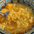 Кроме тыквы и крупы, ингредиентов практически не потребуется. Блюдо хорошо подходит для завтрака.