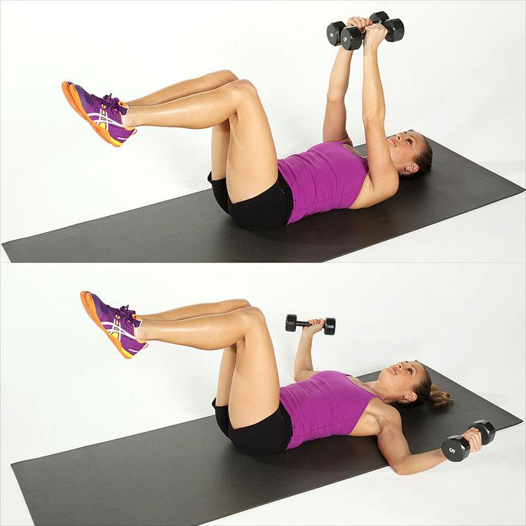 Упражнения с гантелями для женщин станут идеальным вариантом для похудения и общего укрепления физического здоровья.