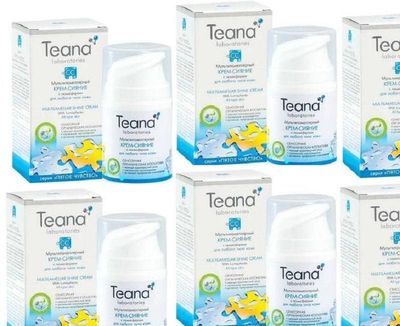 Ассортимент и качество косметики Teana удовлетворит даже самые высокие требования.