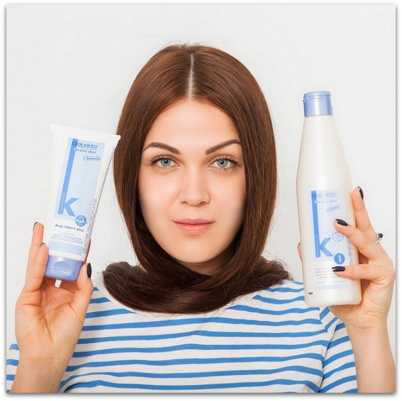 Эффект от кератинового выпрямления должен держаться от 2 до 4 месяцев. Это зависит от типа ваших волос, от того, как быстро они растут, и как правильно вы за ними ухаживаете.