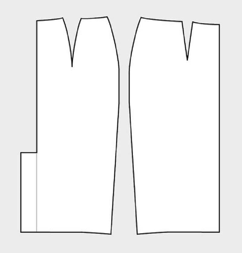 Как построить выкройку для юбки-карандаш