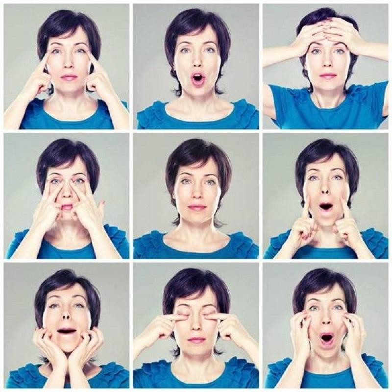 Самое оптимальное время для выполнения упражнений для подтяжки лица — вечер, за 1,5–2 часа до сна.