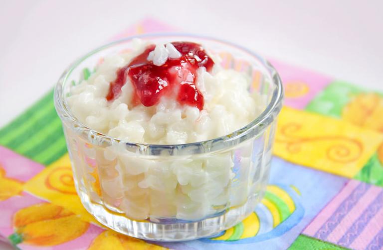 Рецепт рисовой каши на молоке для ребенка 1.5