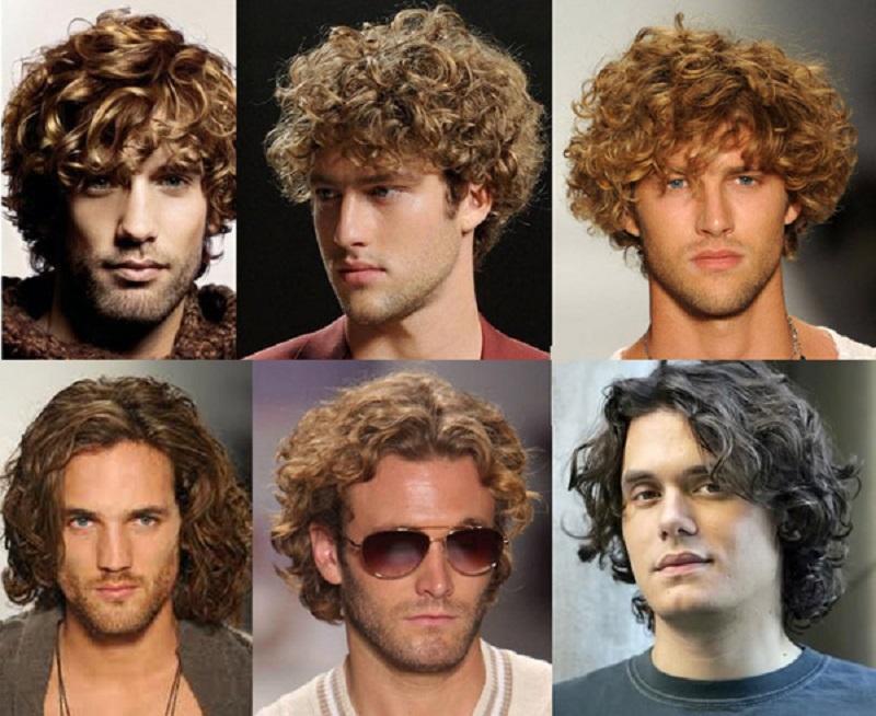Мужские стрижки для кудрявых волос выглядят очень естественно и привлекательно.