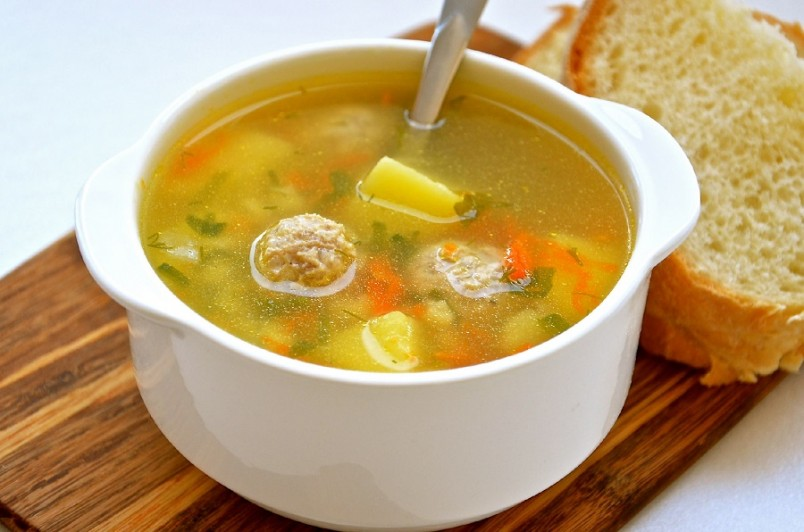 рецепт супа для ребенка 2 года