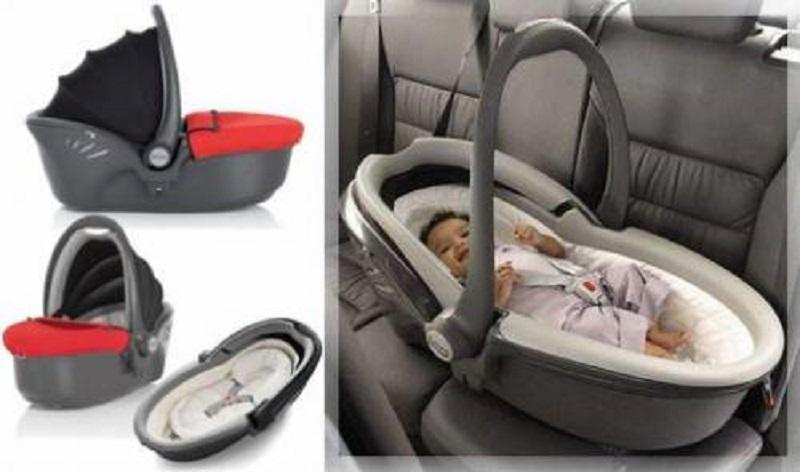 Рисунок 1. Автолюлька класса 0 - идеальное приспособление для перевозки новорожденного младенца.