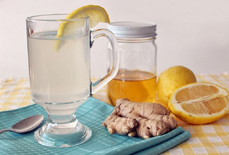 Лимон, имбирь, мед - залог крепкого иммунитета и красивой фигуры.