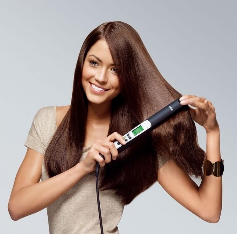Старайтесь не передерживать утюжок на волосах более 5 секунд и используйте его как можно реже.