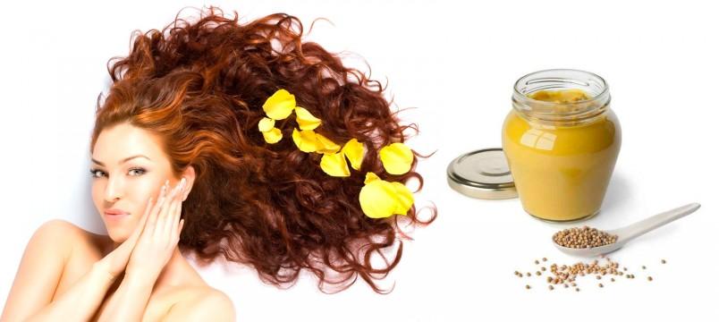 Если нанесенная маска для волос с горчицей будет жечь, ее стоит моментально смыть.