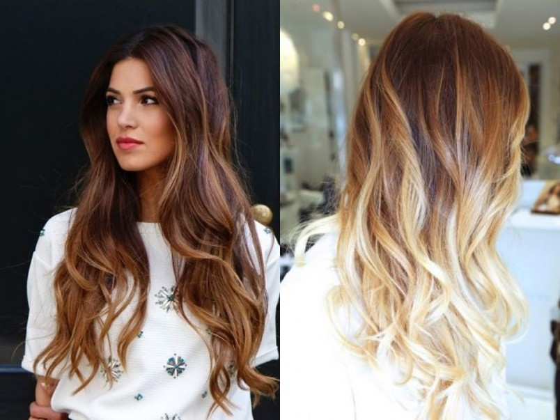 Окрашивание волос шатуш лучше всего проводить обладательницам длинных или средней длины волос.