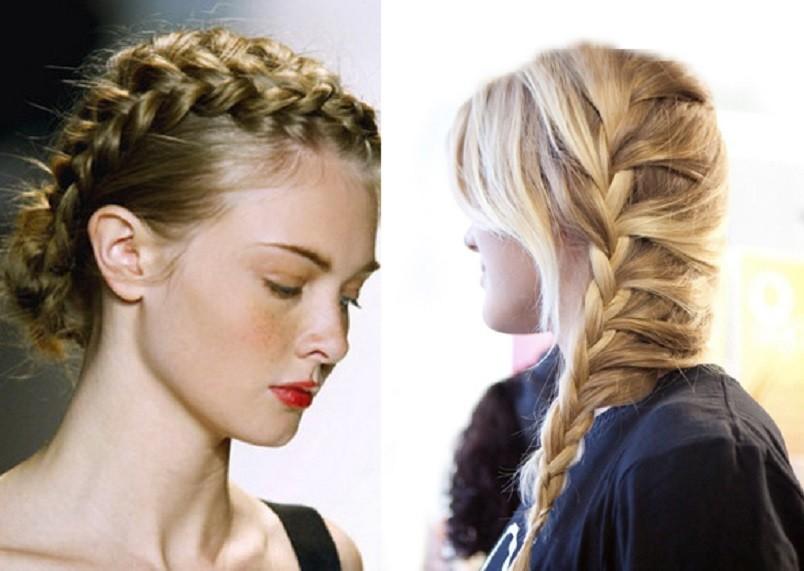 Если ваши волосы средней длины, то вам очень повезло. Вы можете позволить себе огромное количество различных причесок (будничных и праздничных).