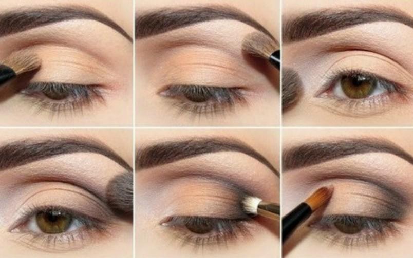 Для традиционного макияжа не рекомендуется делать резких переходов – все должно быть плавным