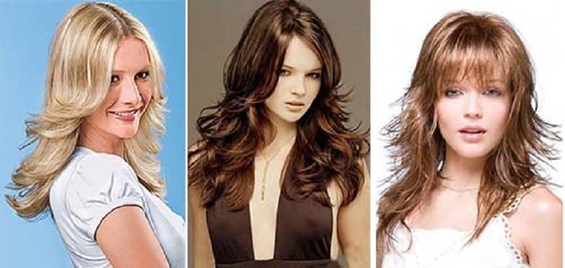 Укладка на средние волосы занимает значительно меньше времени, чем на длинной шевелюре, а сделать можно намного больше.