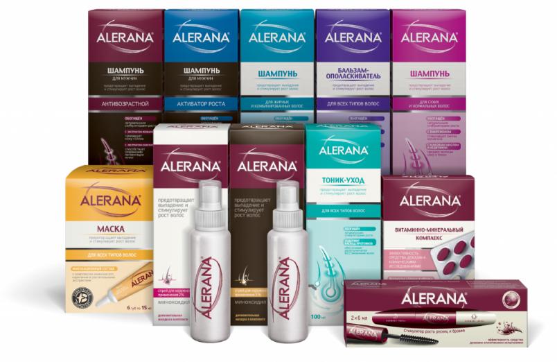 Шампунь Alerana справедливо считается лидером среди отечественных средств против выпадения волос.