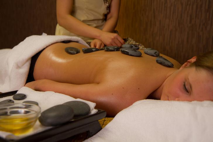 Каждый камешек после массажа займёт своё место.