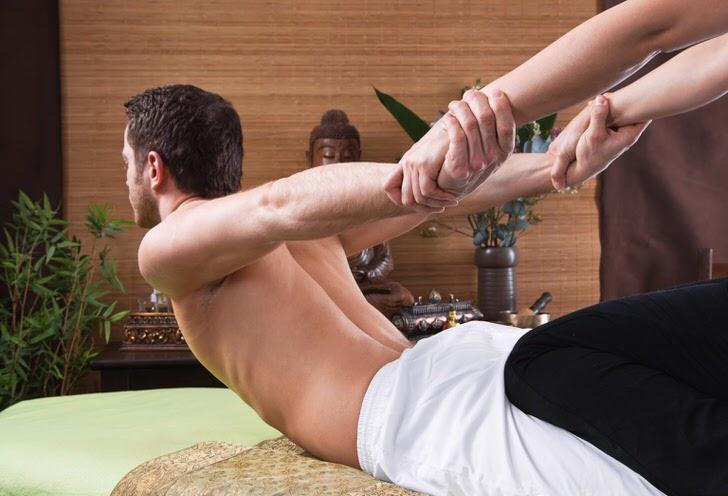 Один из самых приятных моментов массажа.