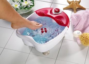 Гидромассажные ванны могут иметь разный характер воздействия на ноги: с помощью вибрации, механически и с помощью пузырьков.